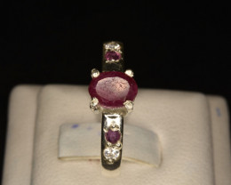 Natural Ruby Gorgeous Ring