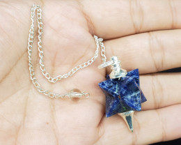 LAPIS LAZULI Pendulum for Healing made with Natural Gemstone C45