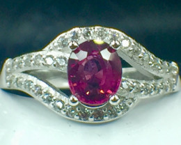 Natural Grape Garnet Beautifulist Silver925 Ring. DGG 112
