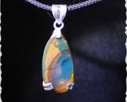 Unique Dominican Natural Clear Blue Red AAA++ Amber .925 Sterling Silver Pe