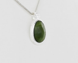 PENDANT 925 STERLING SILVER NATURAL GEMSTONE JP115