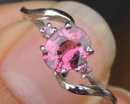 Malaya Garnet & Pink Sapphire Ring