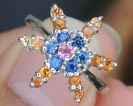 Sapphire Ring-  Top Design
