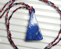 37.6 cts Beautiful Natural Lapis Lazuli Pendant.
