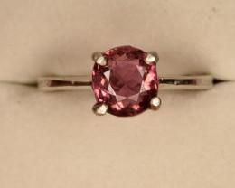 Natural Baby Pink Tourmaline Ring