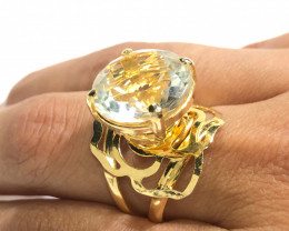 Fashion Crystal Ring  Adjustable  SizeBR 2503