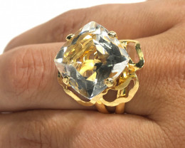 Fashion Crystal Ring Adjustable size  BR 2503