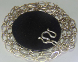chain necklace ~ pure silver designs 61.35cts