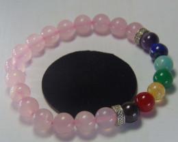 Beautiful beads Bracelet  rose Quartz,Citrine,Lapiz Amet