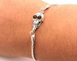 Amber sterling silver bracelet Br 2513
