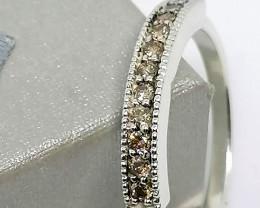 Diamond Half Eternity Ring 0.20 TCW