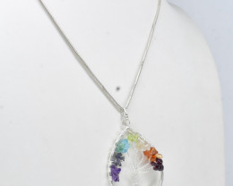 31.55 CT Healing Pendant Made With Natural Gemstone C51