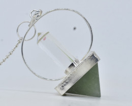 117.65 CT Pendulum for Healing made with Natural Gemstone C58