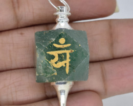 104.10 Pendulum for Healing made with Natural Gemstone C62