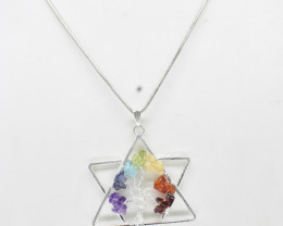 42.55 CT Healing Pendant Made With Natural Gemstone C75