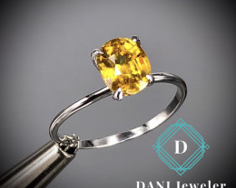 Sphene  925 Silver Ring  by DANI Jewellery