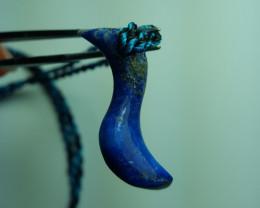 10.2  cts Beautiful Natural Lapis Lazuli Pendant.
