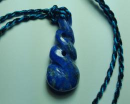 36.2 cts Beautiful Natural Lapis Lazuli Pendant.