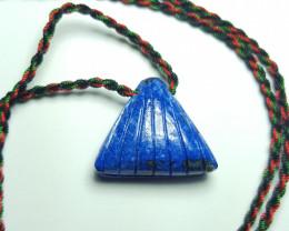 34.4 cts Beautiful Natural Lapis Lazuli Pendant.