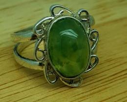 20 CT Rare Idocrase 925 Silver Ring