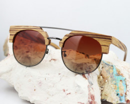 Vintage Glasses in Wooden Eyewear - Sunglasses - SUN 07