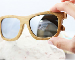 Polarized Bamboo Frame - Sunglasses - SUN 25