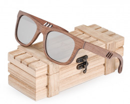Polarized Elegant Wood Glasses Fashion Retro Eyewear - Sunglasses - SUN 32