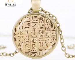 Ancient  Egyptian Hieroglyphics Pendant OPJ 2612