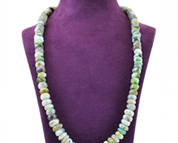 Round Beads Peruvian Opal Beads Necklace