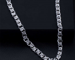 Connected Circle Heavy Chain 925 silvers