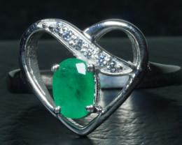 BEAUTY ZAMBIAN 925 Sterling silver ring-