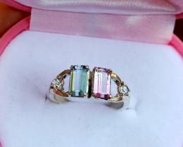 Gorgeous Tourmline Ring.