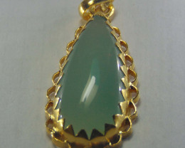 gold plated  ~ pendent ~ 999 silver designs 53.75cts