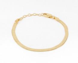 gold plated bracelet, delicate chain bracelet, minimalist bracelet