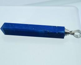 31.65 Carats Natural Blue Lapis Lazuli Crystal Pendant
