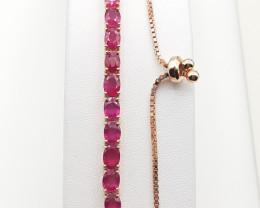 Glass Feld Ruby Bracelet.