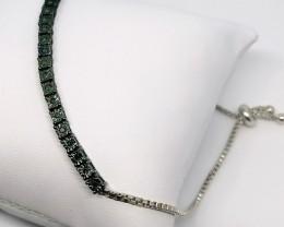 Blue Diamond Bracelet 0.25 TCW