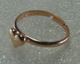 Rose Gold Heart shape Ring