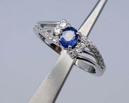 15Crt  Sapphire Ring 925 silver JIR09(3)