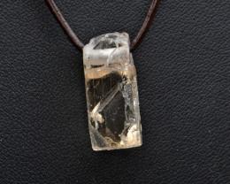 Natural Topaz Crystal Pendant