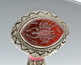 Gypsy Style Afghan Kuchi Tribal Ring Vintage Style Handmade Ring