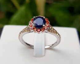Natural beautiful sapphire Ring.