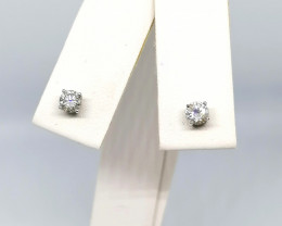 Diamond Stud Earrings 0.36 TCW in 14kt. Gold