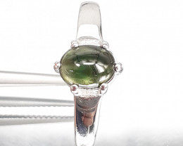Tourmaline 925 Silver Ring by DANI Jewellery