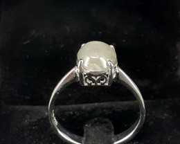 Natural Star Sapphire Ring 14.56ct. in 925 Silver  by DANI Jewellery