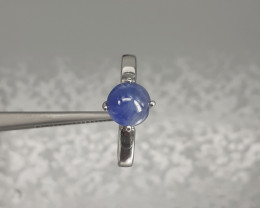 Nice Sapphire Ring 17.60ct. in 925 Silver  by DANI Jewellery