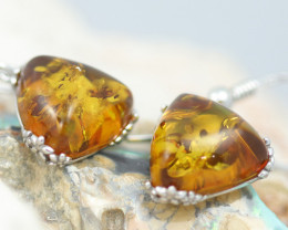 Baltic Amber Earrings sheppard hooks  ,direct from Poland AM 1588