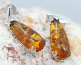 Baltic Amber Earrings   ,direct from Poland AM 1602