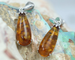 Baltic Amber Earrings   ,direct from Poland AM 1603