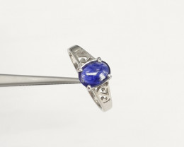 Sapphire 925 Silver Ring by DANI Jewellery